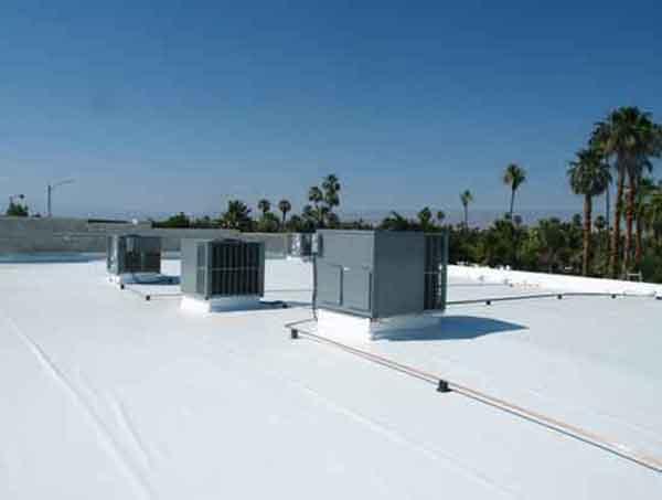 Flat roof membrane.